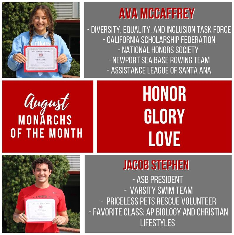 August Monarchs of the Month Featured Photo