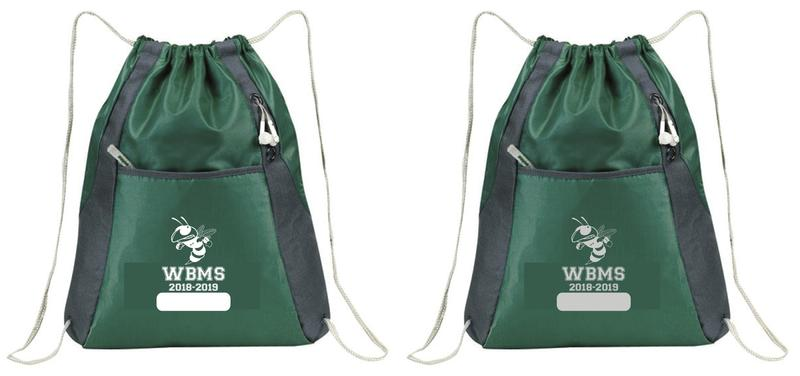 2018-2019 WBMS Drawstring Bag Thumbnail Image