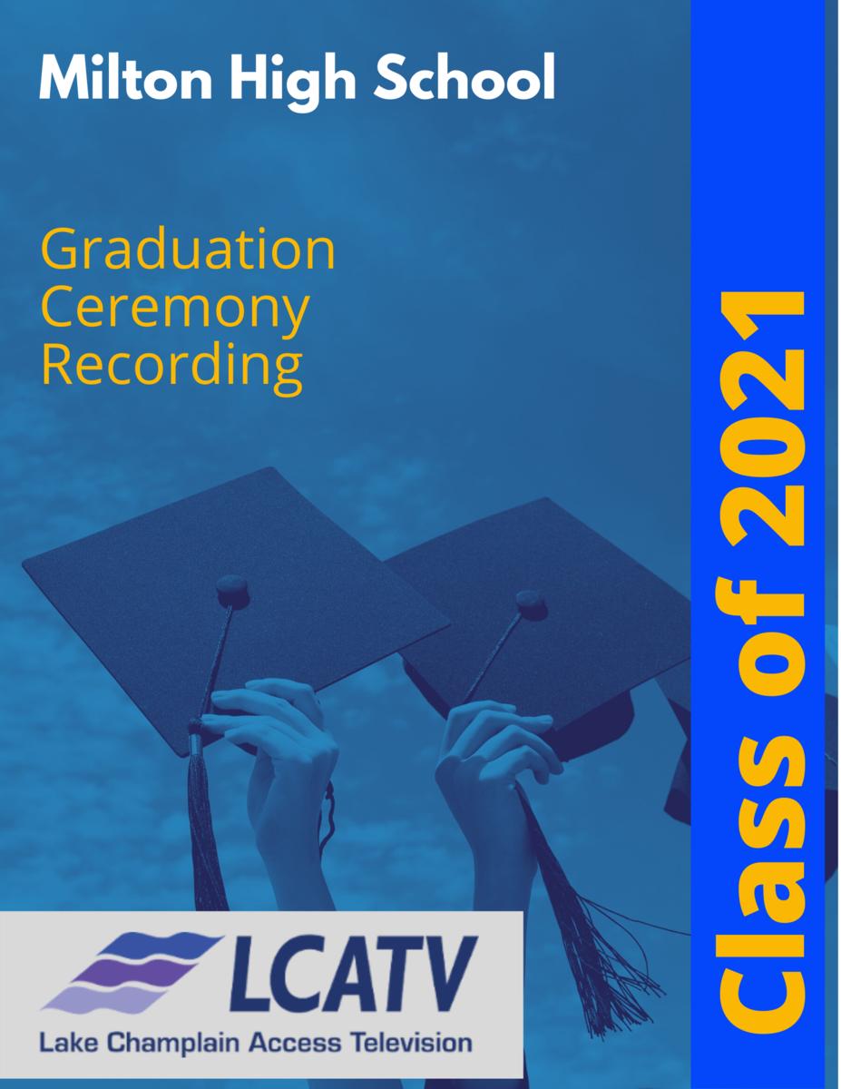 Milton High School Graduation 2021 Featured Photo