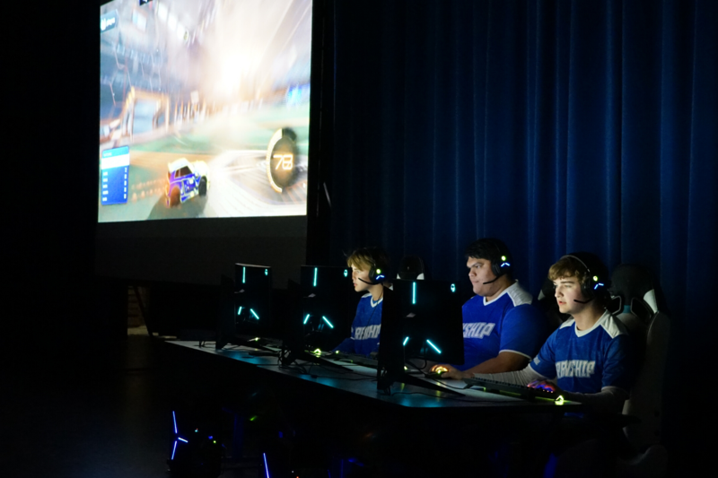 esports team plays in state championship