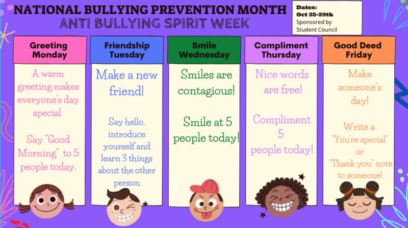 ***National Anti-Bullying Week*** Featured Photo