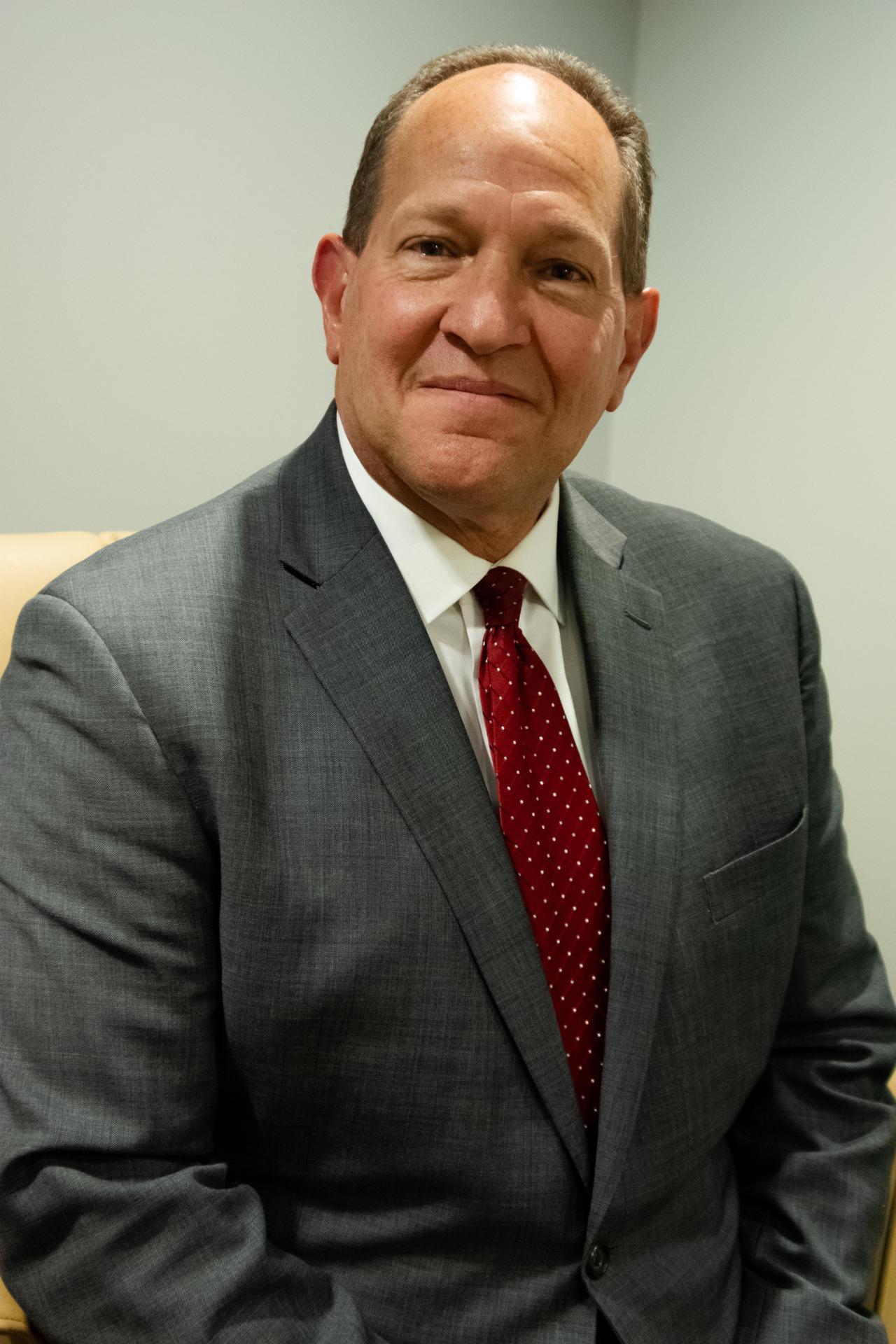 Superintendent Scott Robison