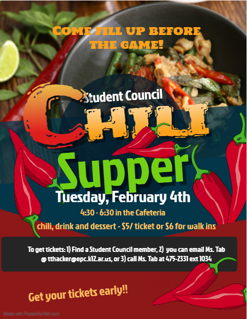 Hosted by Student Council