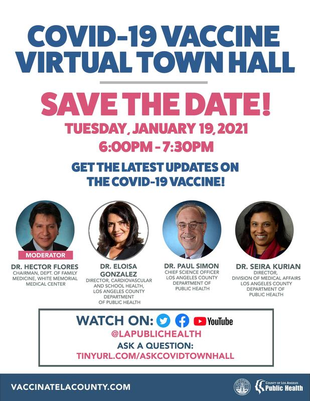 COVID19 Vaccine Virtual Townhall 01/19 Featured Photo