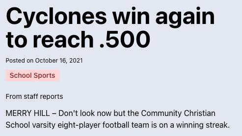 Cyclones win again to reach .500 Thumbnail Image