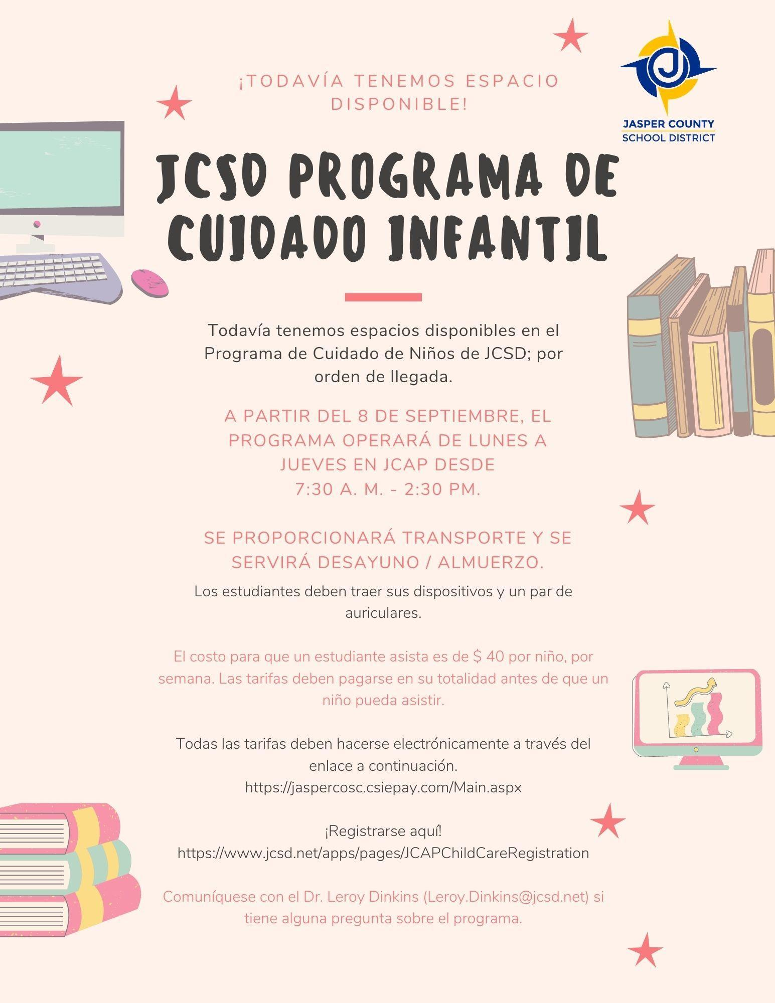 JCSD Programa De Cuidado infantil