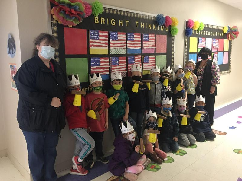 Kindergarten Celebrates Constitution Day