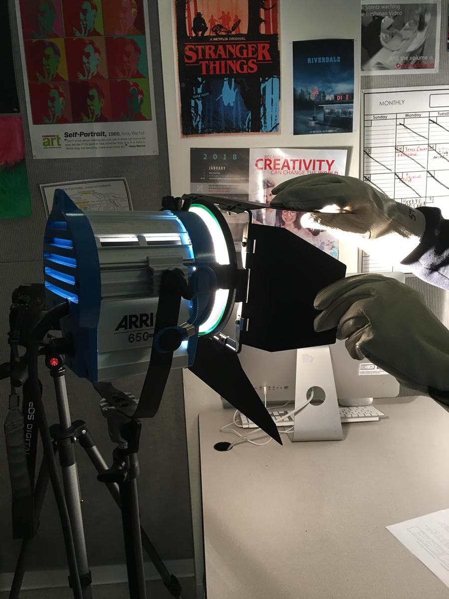 Professional Lights and Gear