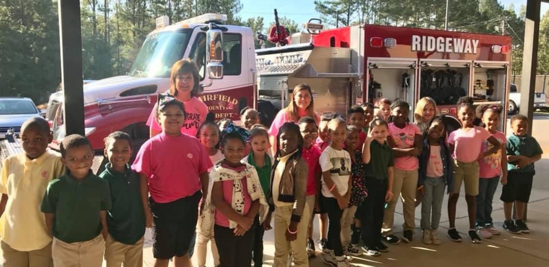Ridgeway Fire Department visit