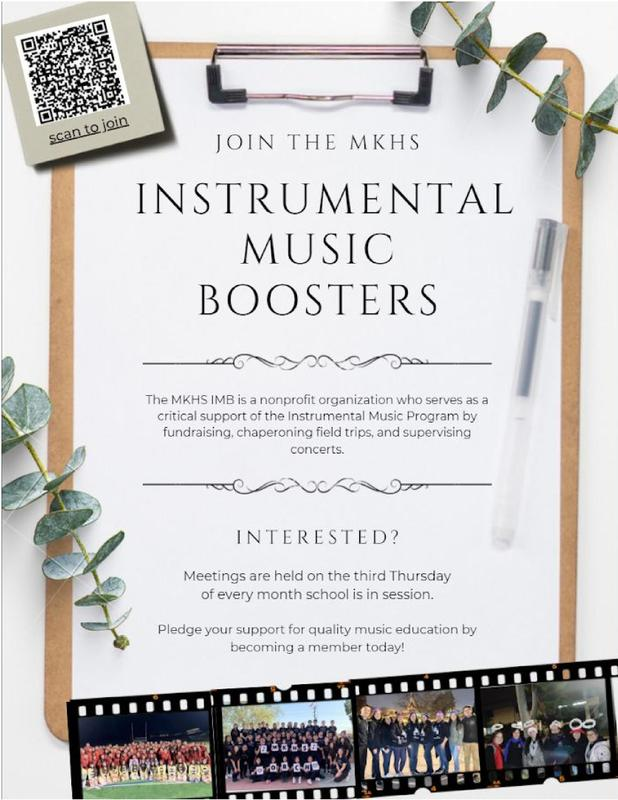Join the Instrumental Music Boosters! Featured Photo
