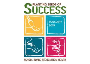 logo for school board recognition month