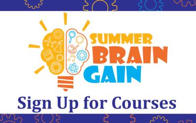 Summer Brain Gain logo