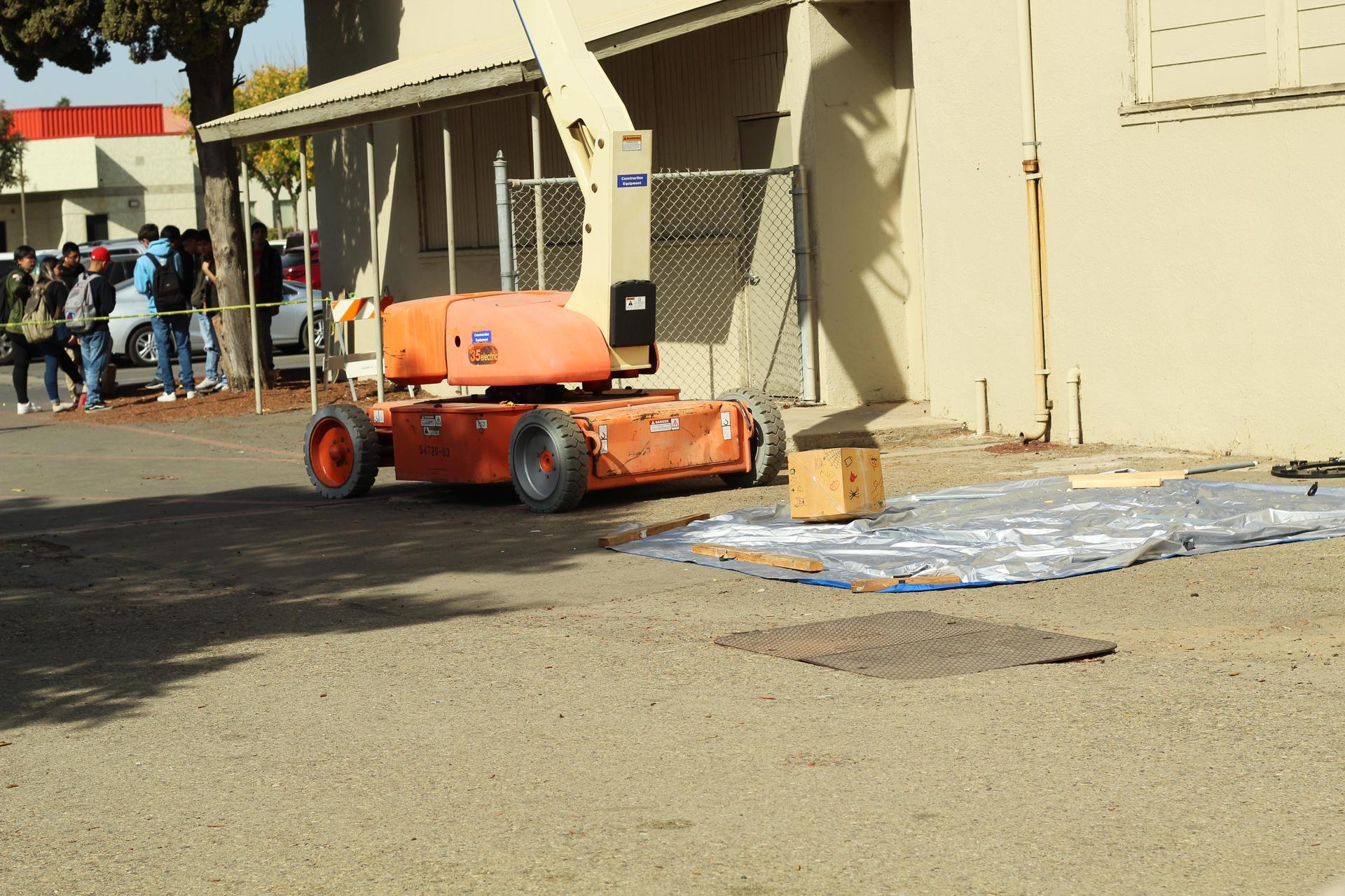 Team eight pumpkin landing