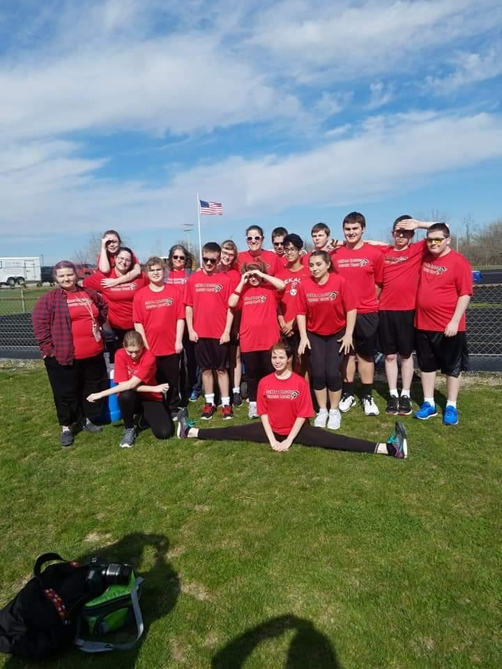 Unified Track Meet at Carroll 2018