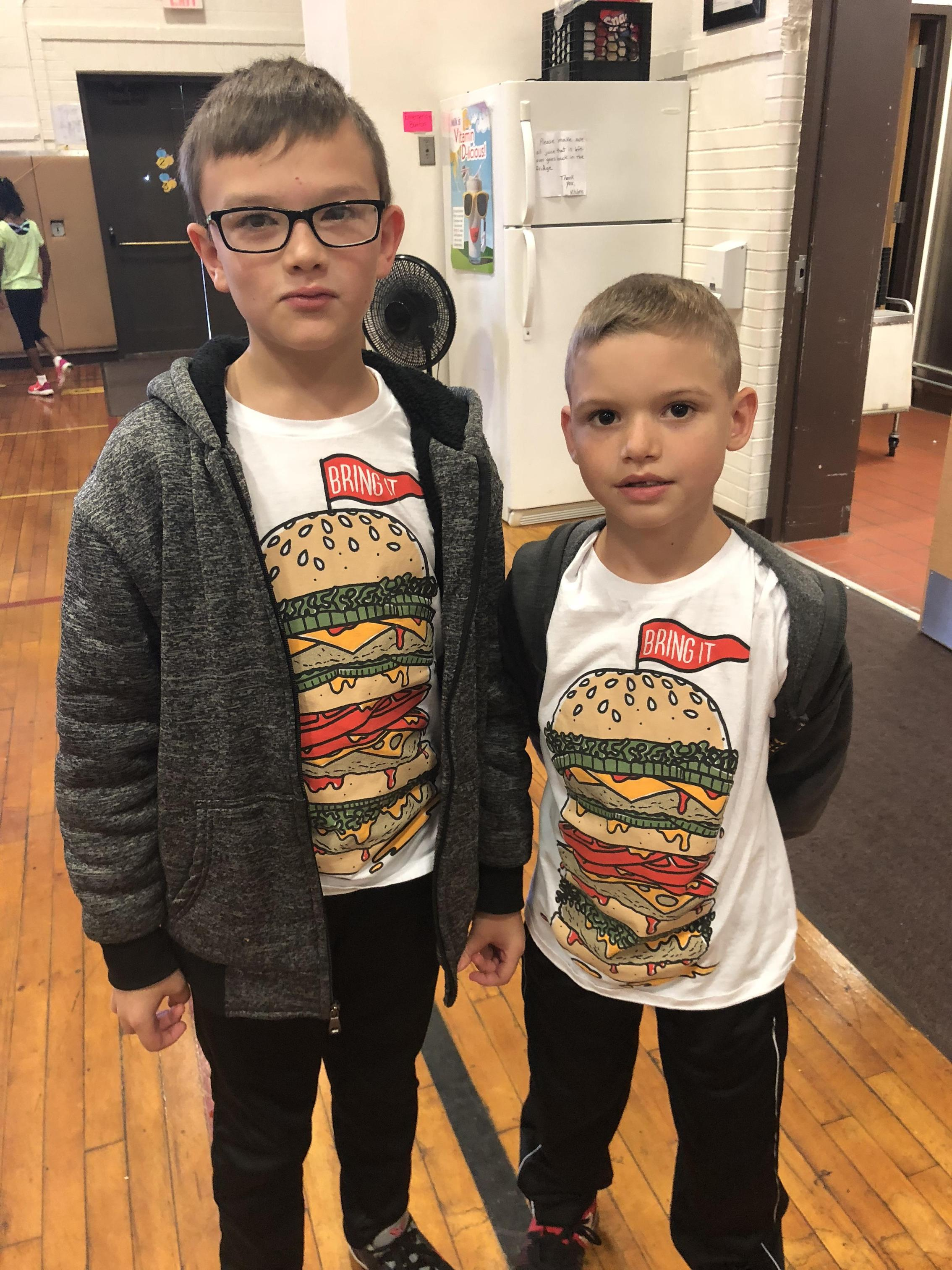 Hamburger dudes