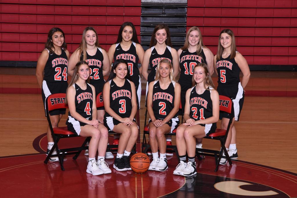Girls 2019-2020 Varsity Basketball Team