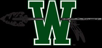 w with spear logo