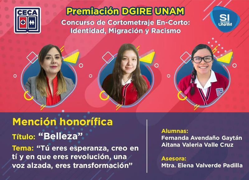 Premiación DGIRE UNAM Featured Photo