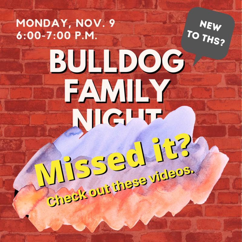 Missed Bulldog Family Night?