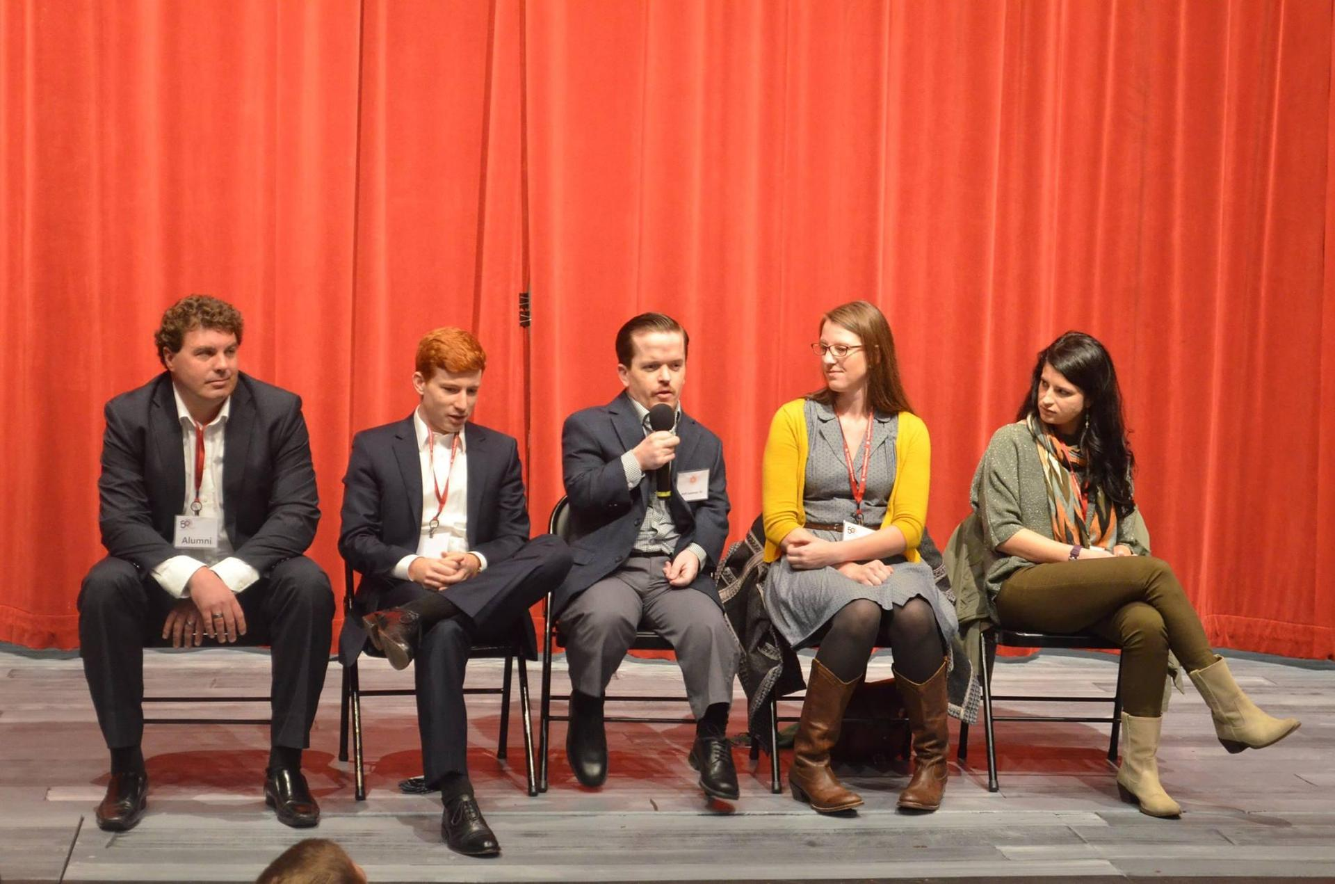 Prep's Young Committee has hosted several 'Alumni Voices' discussion panels through the years.