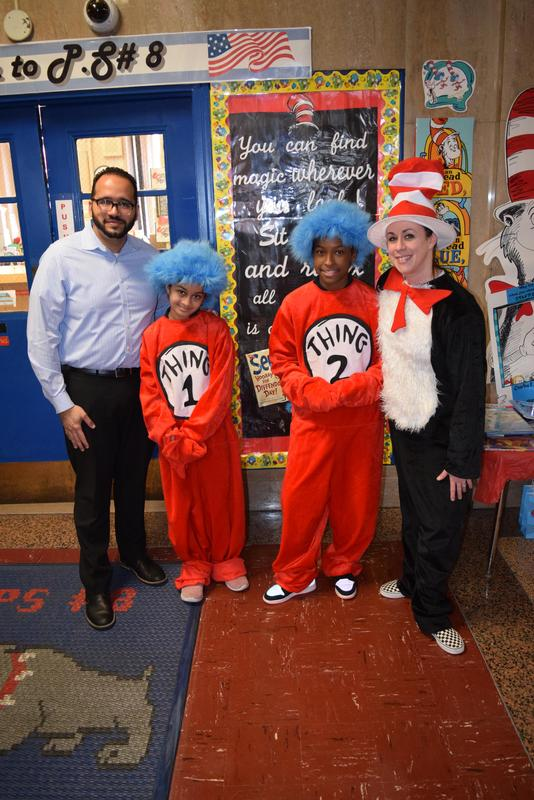 Dr. Seuss at PS 8