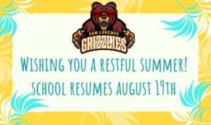 Wishing you a restful summer! San Lorenzo High School.png