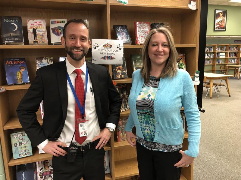 From L to R: John Coviello and Deborah Bonchek