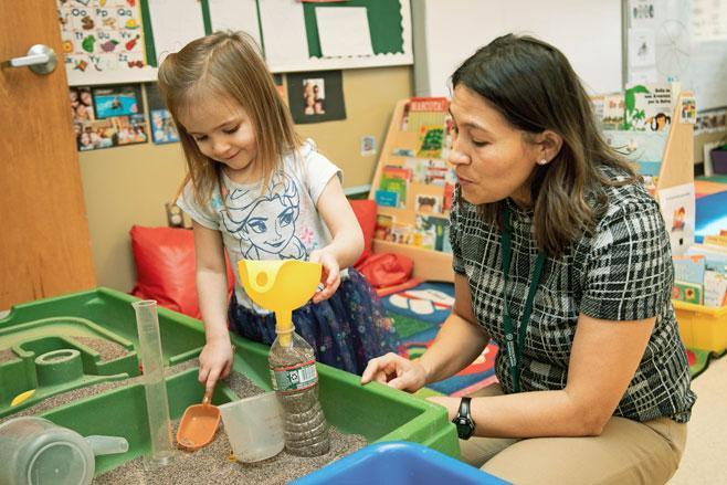 Spanish Preschool at HudsonWay Immersion School