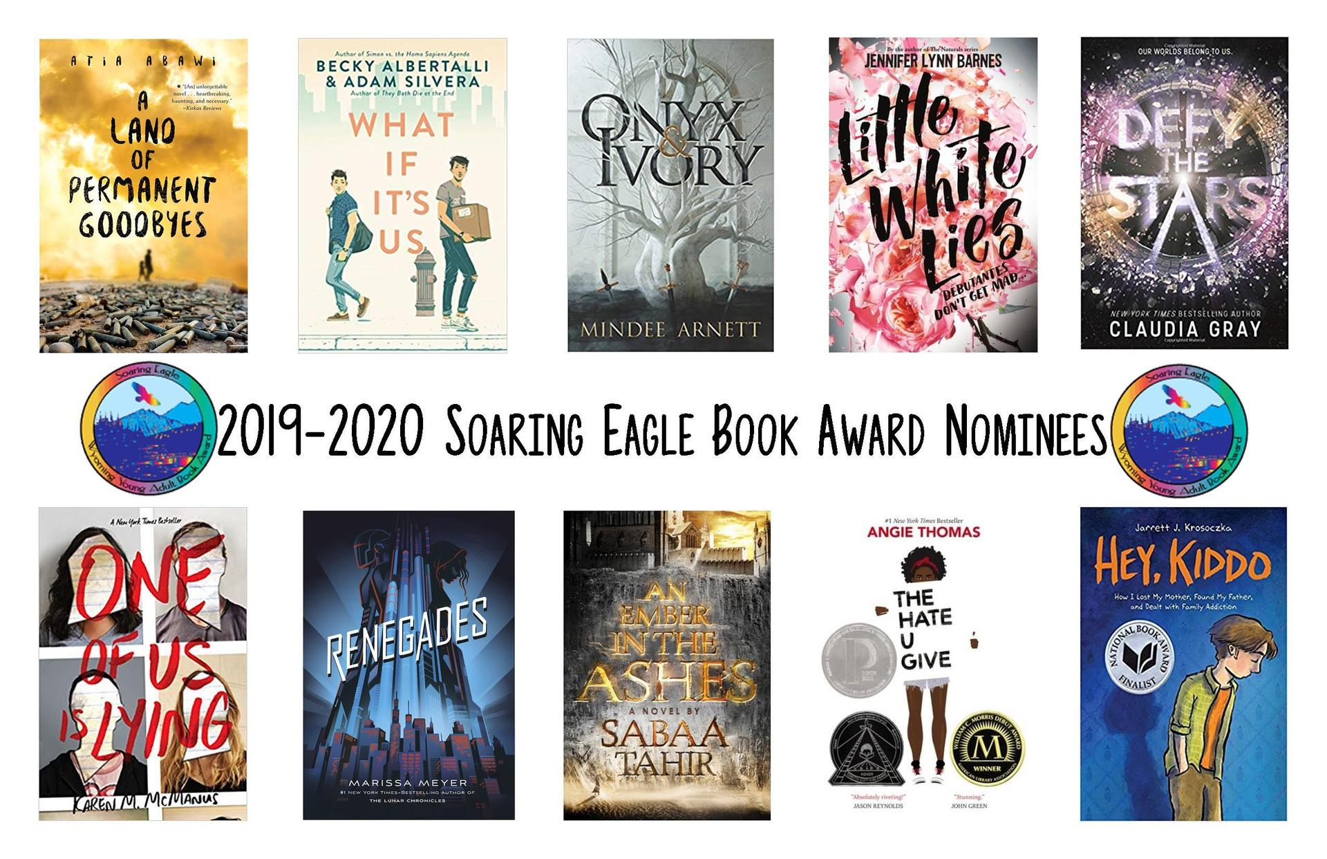 book covers for Soaring Eagle 2019-20