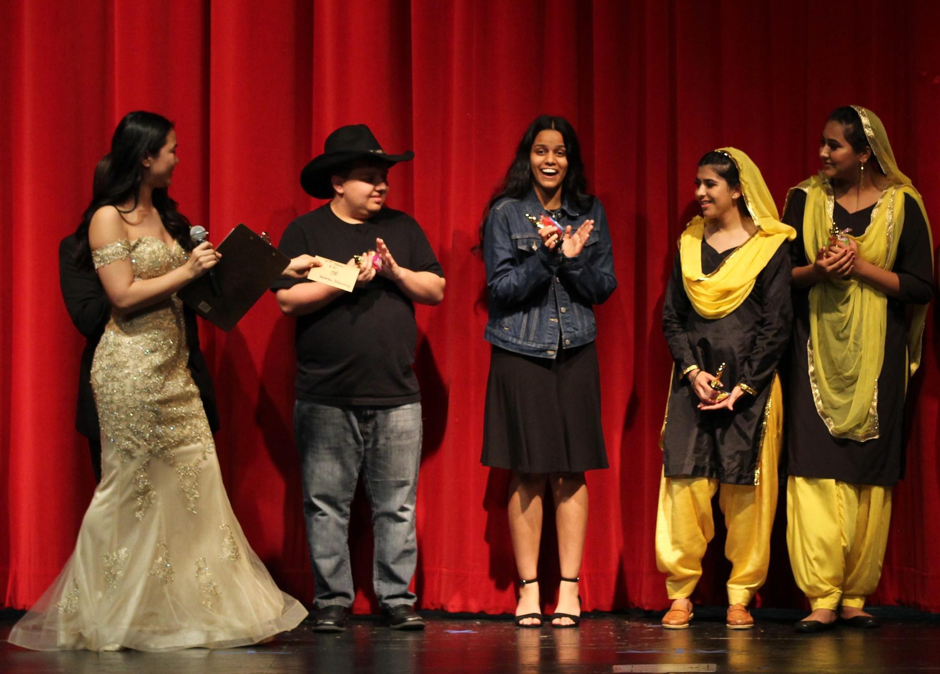 Hahna Song, Jaxon Powell, Natasha Bhardwaj, Stephanie Ponce,and  Sukhpreet Kaur