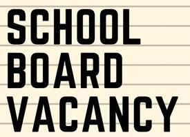 OVUSD has a school board vacancy.