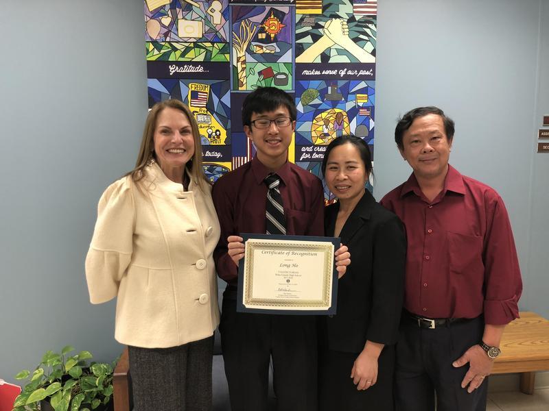 Congratulations, Long Ho! Class of 2018 Valedictorian! Thumbnail Image