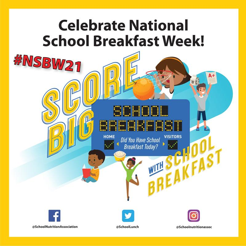 National School Breakfast Week Featured Photo