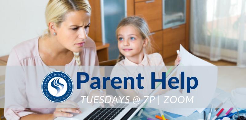 Parent Help | Tuesday, April 7 @ 7p Thumbnail Image