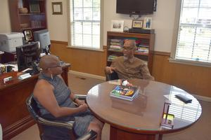 Dr. Renee Horton visits McComb School District 2019