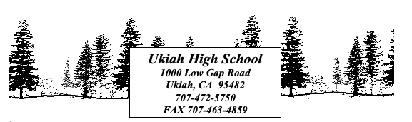 Ukiah High School Information