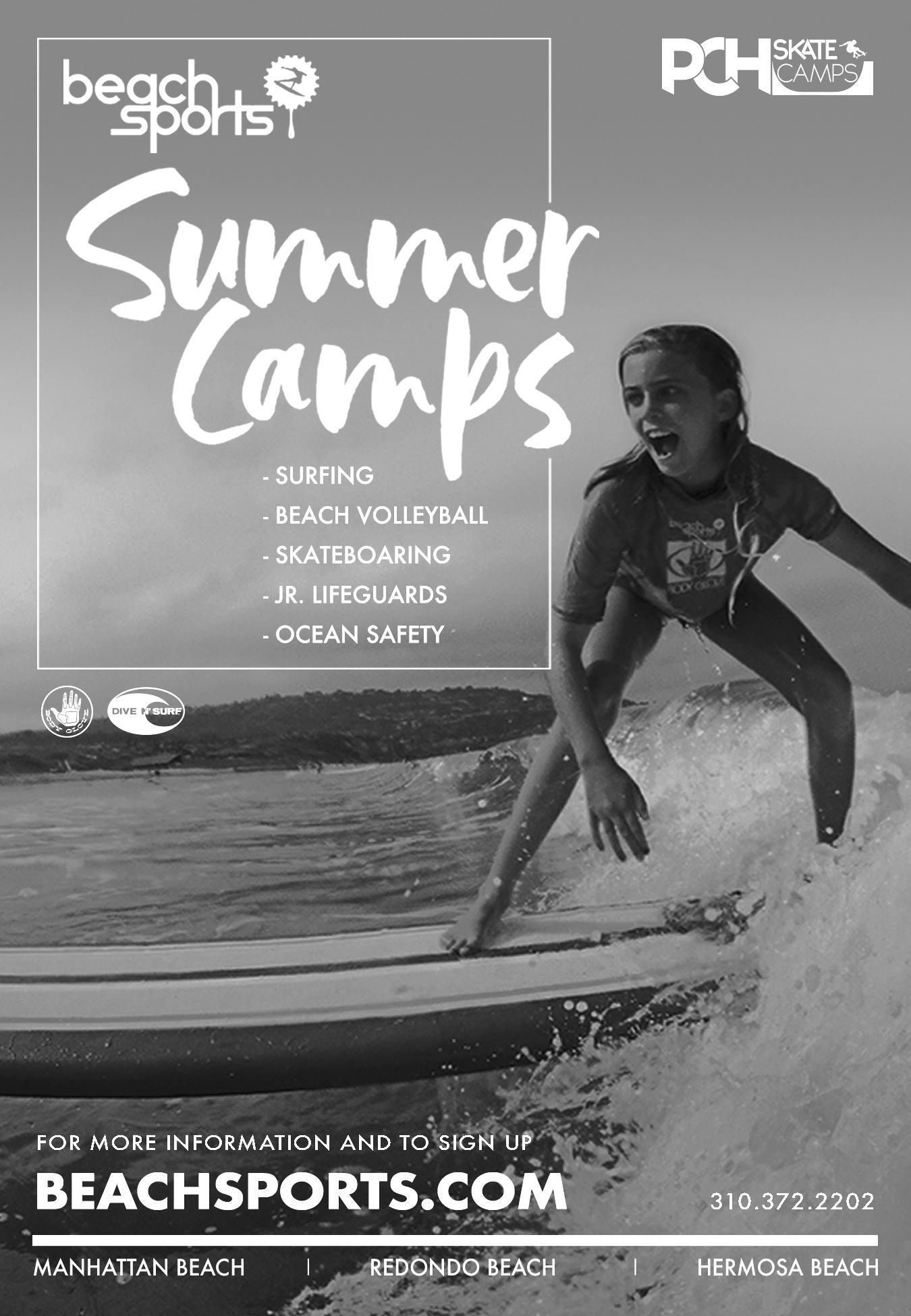 beach sports ad