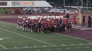 Mt. Lion football and Elementary football teams