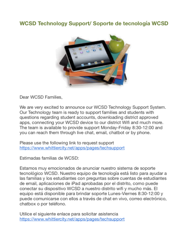 Link to PDF for Tech Support