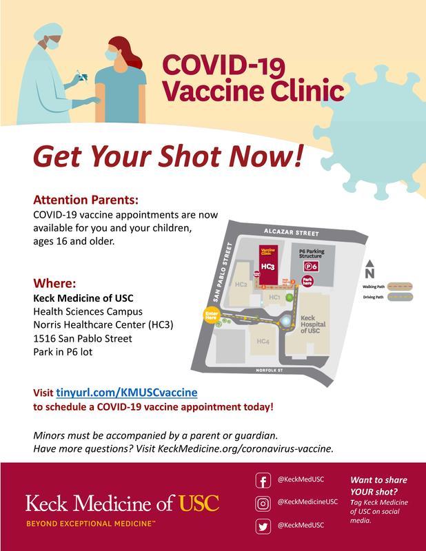 Keck Medicine Vaccines