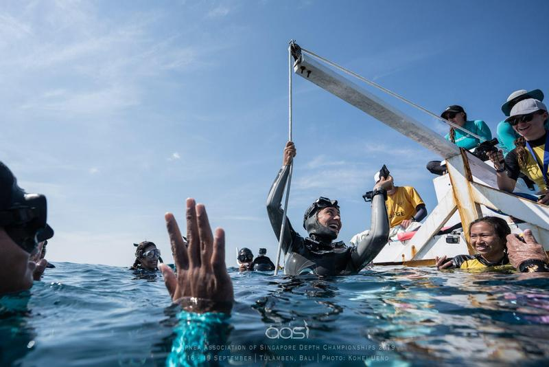 ISP Dolphin Maria Antonia Vergara Sets 3 New National Free Diving Records Featured Photo