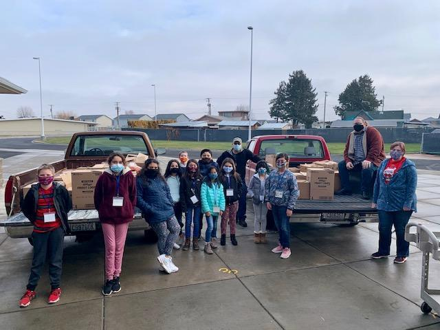 2020 Canned Food Drive Way to go Moxee- Featured Photo