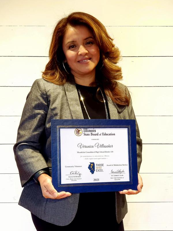 Volunteer earns state recognition