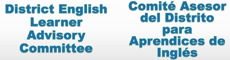 CONGRATUALTIONS! District's English Learner Advisory Committee (DELAC) Thumbnail Image