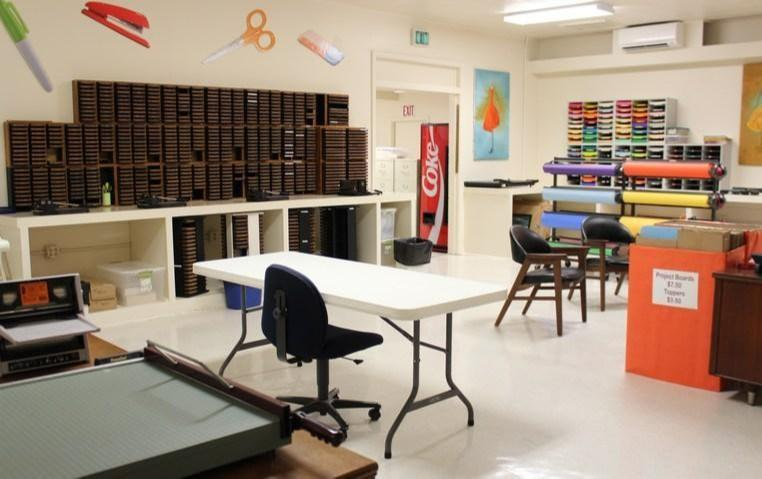 Inside Production Lab