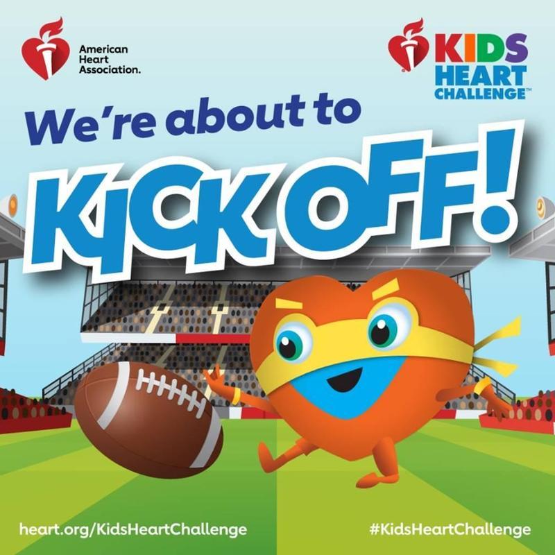heart challenge flyer