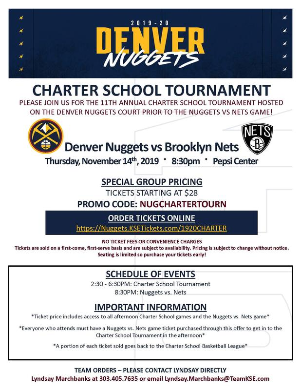 Charter Tournament Flier