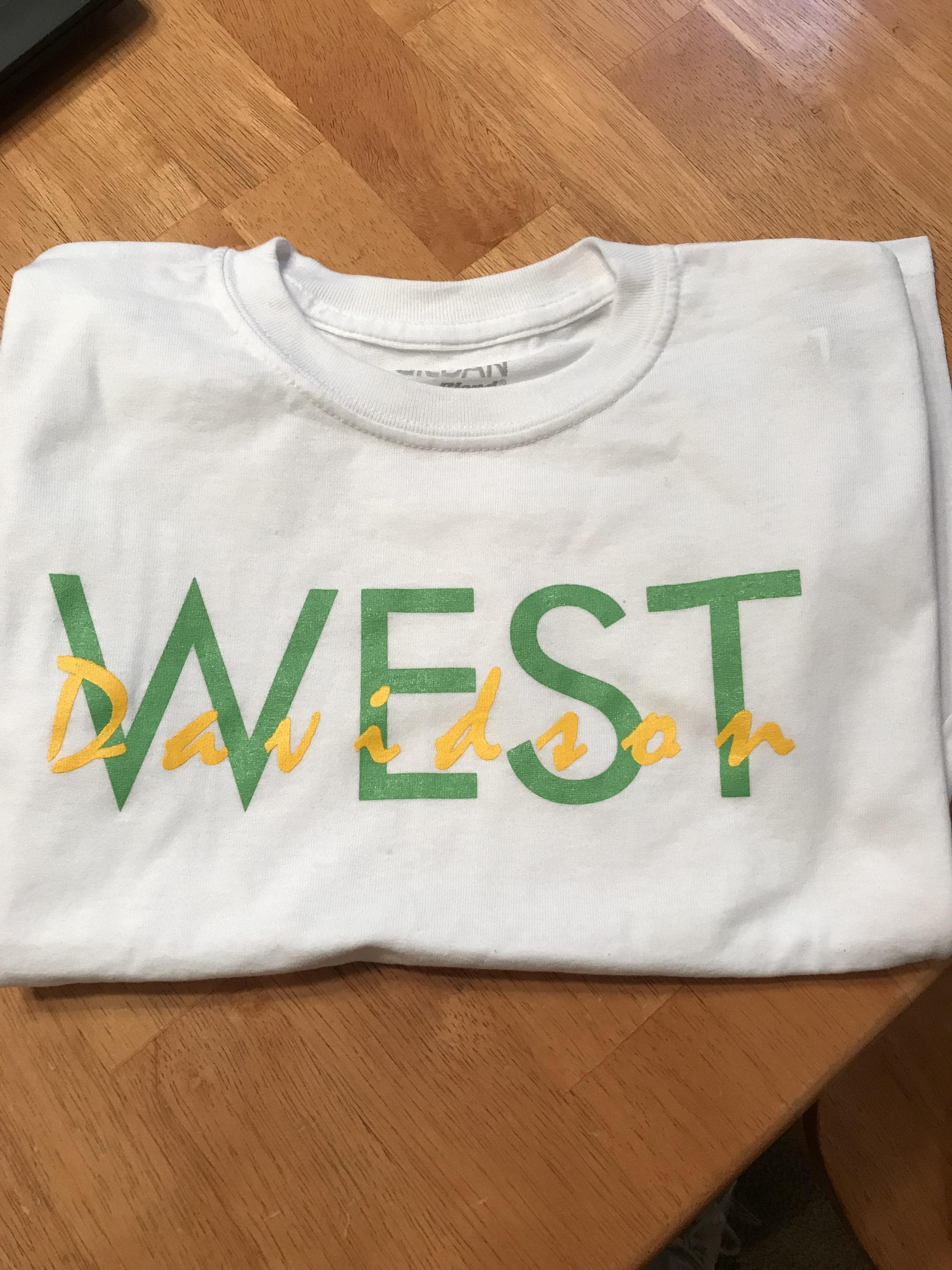 West tshirt