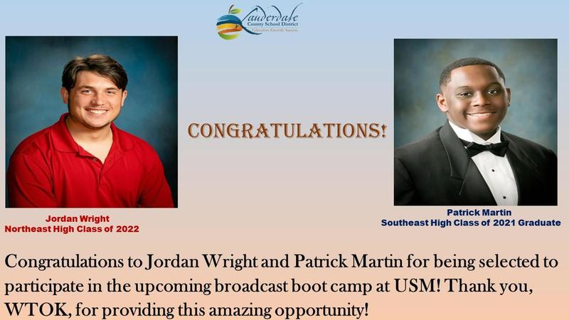 LCSD/WTOK Boot Camp Honorees