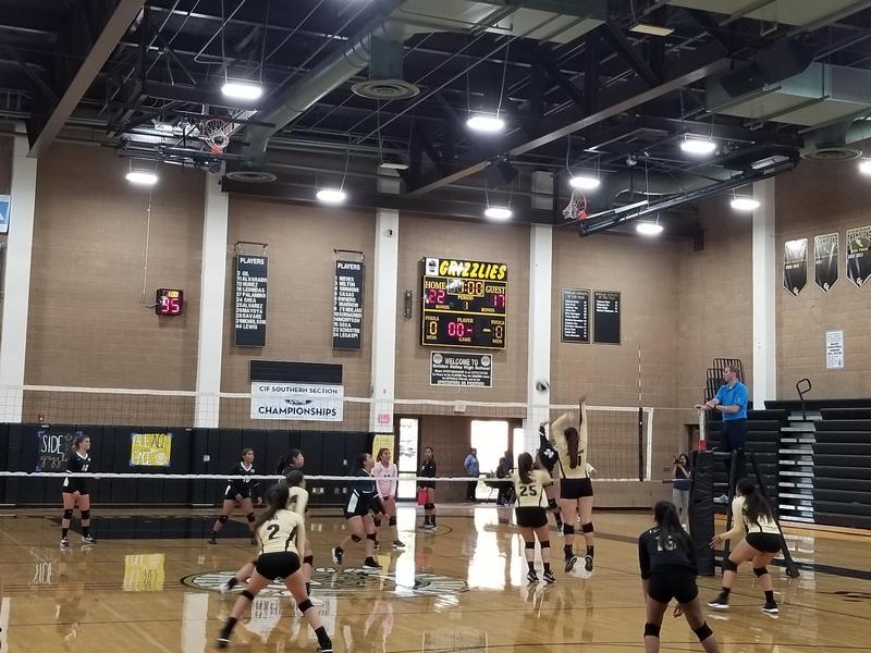 Girls volleyball sweep Eastside in season opener. Featured Photo